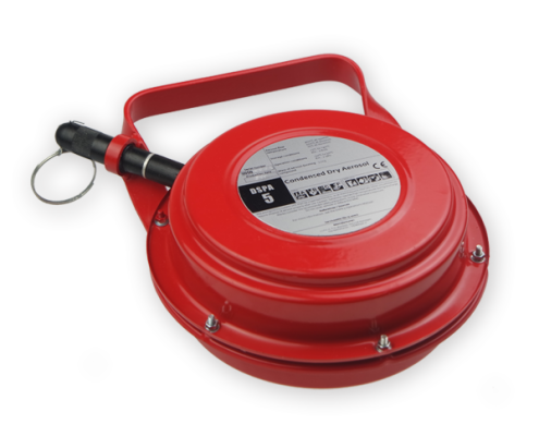 DSPA-5 fire suppression system